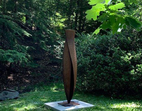 Sculpture Trail at Laurelwood Arboretum Installs Second Work of Art