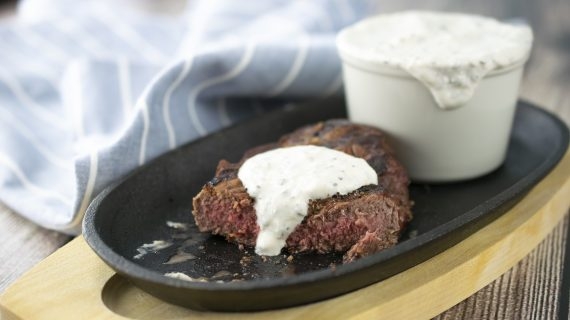 A Creamy Complement for Summer Steaks