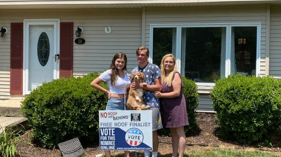 JODY GREGORY NAMED WINNER IN ALTE ROOFING'S NO ROOF LEFT BEHIND 6th FREE ROOF GIVEAWAY