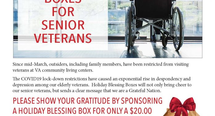 HOLIDAY BLESSING BOXES FOR VA SENIORS