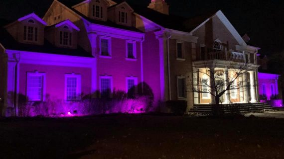 Little Falls Puts On A Purple Glow For Pancreatic Cancer Awareness