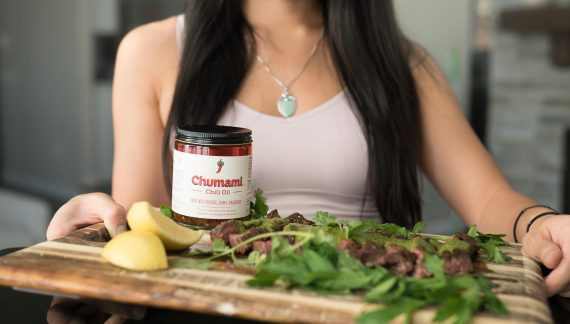 Chu Family Brother and Sister Introduce Chumami Chili Oil to the Public