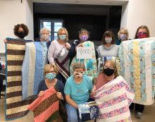 Quilting for a Cause NJ Sews and Donates Quilt # 4,000