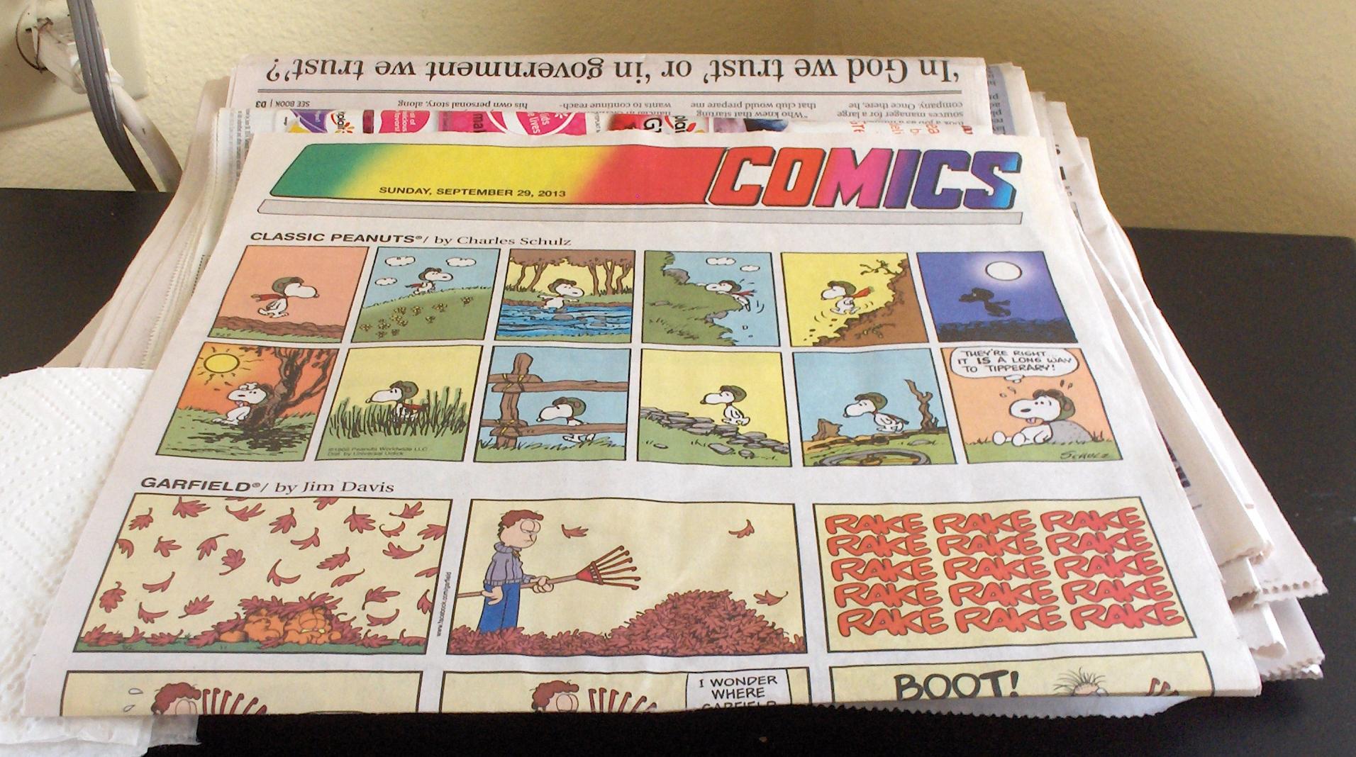 Thoughts Comics