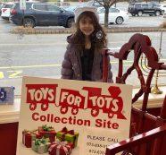 Wayne Girl Donates 16 Toys to Local Drive