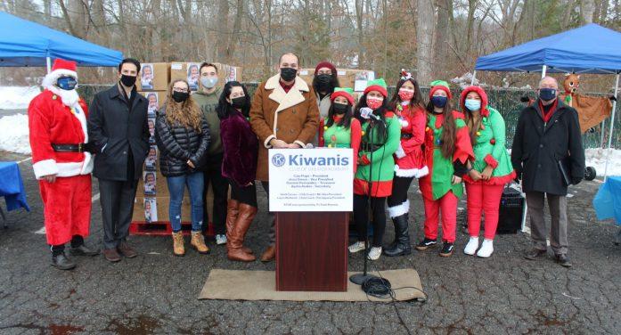 The New Kiwanis Club of Roxbury Wastes No Time Getting to Work