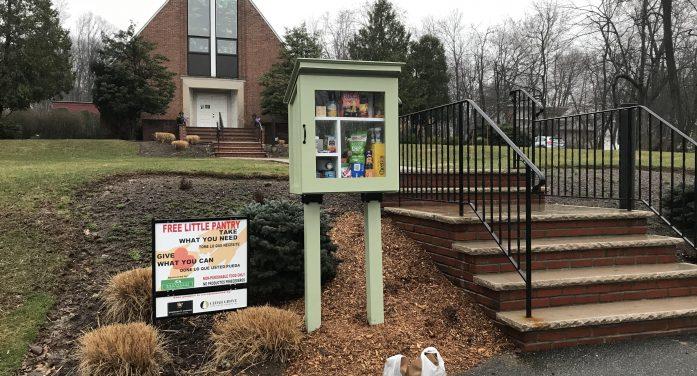 Cedar Grove Free Little Pantry Feeds People in Need