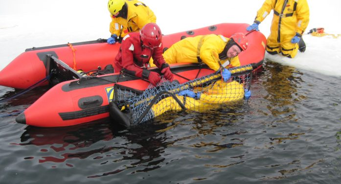 Denville Fire Department Partakes in Ice Rescue Weekend
