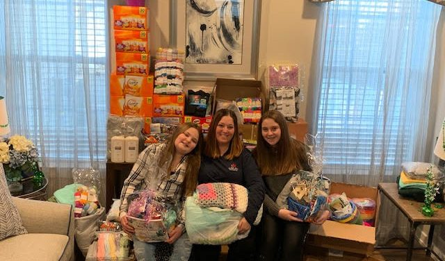 "Hackettstown Mom and Daughters Team Creates ""Operation: Send Smiles!"""