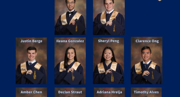 Roxbury Honors Top Students in Graduating Class of 2021