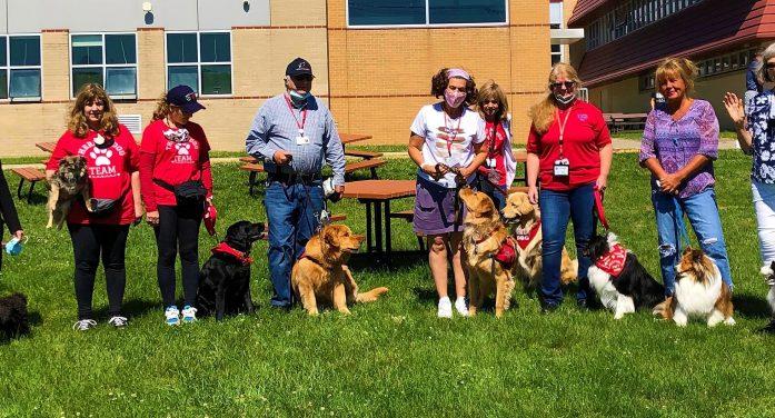 Wellness Wednesday Brings Doggies to Wayne Hills