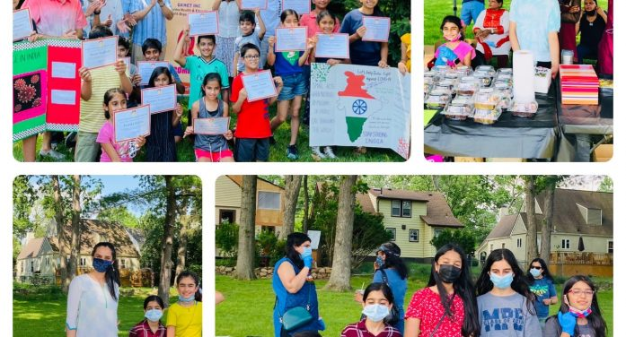Livingston Youth Step Up For Indian COVID Relief