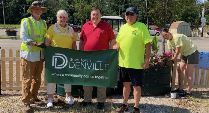 Entrance to Denville Gets Facelift