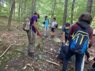 Troop 249 Beautifies Trail