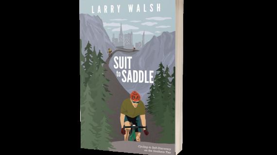 Mendham Man's West to East Coast Bike Travels Birth Two Books